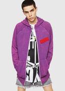 S-GIM-HOOD-ZIP, Violet - Sweaters