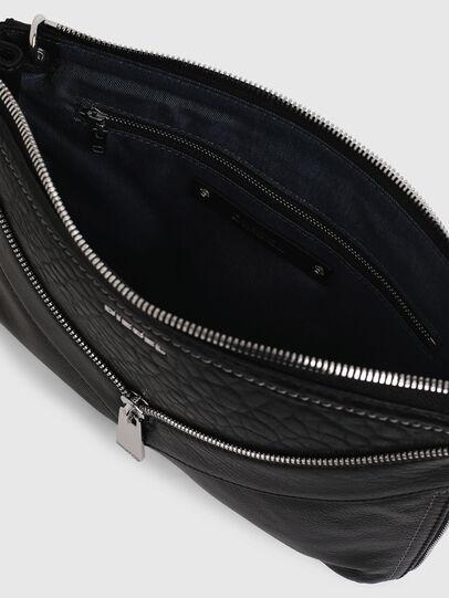 Diesel - LE-LITTSYY, Black Leather - Clutches - Image 4