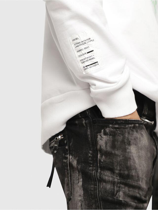Diesel - S-BAY-YC, White - Sweaters - Image 3