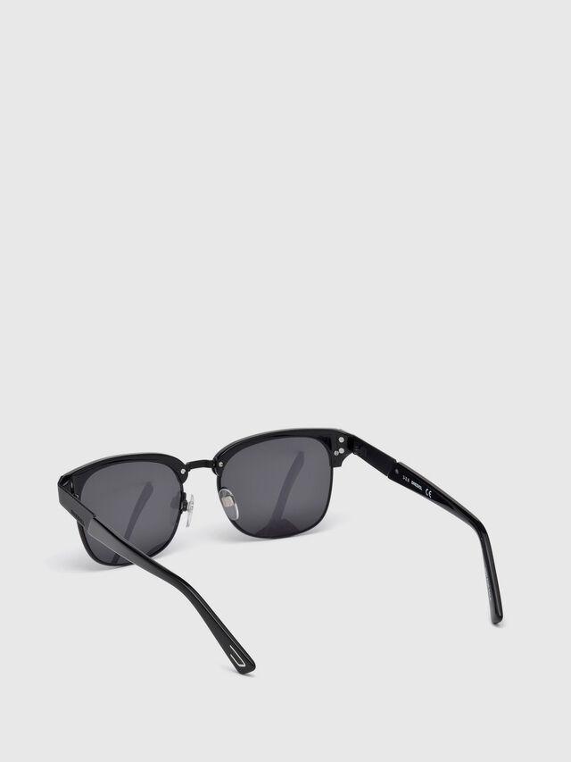 Diesel - DL0235, Black - Sunglasses - Image 4