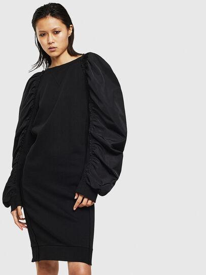 Diesel - D-FLISS, Black - Dresses - Image 1