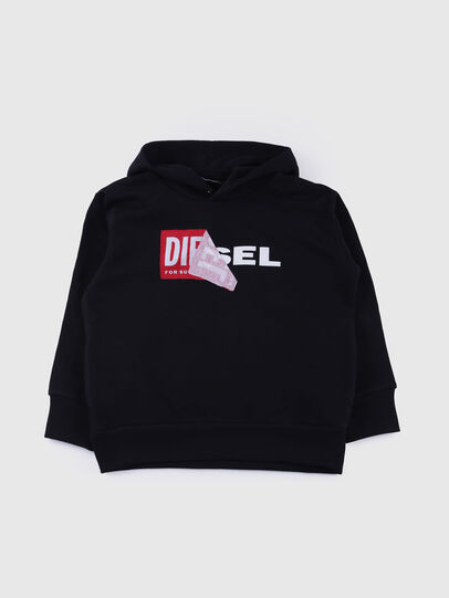 Diesel - SALBY OVER, Black - Sweaters - Image 1