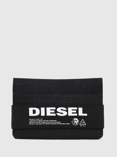 Diesel - ORGANIESEL, Black - Small Wallets - Image 1