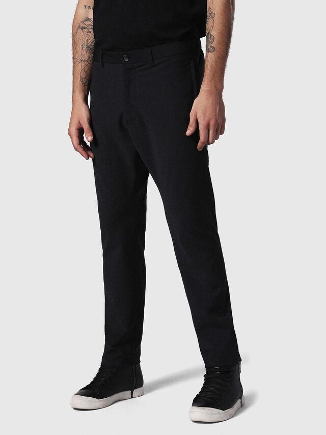 Diesel P-OLIVERY, Black - Pants - Image 1
