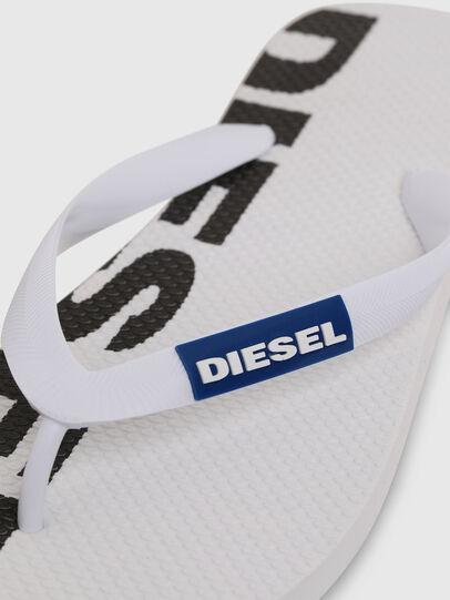 Diesel - SA-BRIIAN, White/Black - Slippers - Image 3