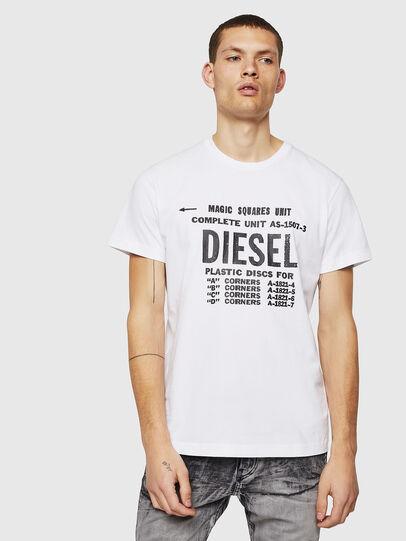 Diesel - T-DIEGO-B6, White - T-Shirts - Image 1