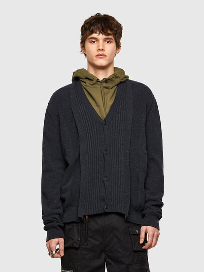 Diesel - K-MATRIX, Black - Knitwear - Image 1