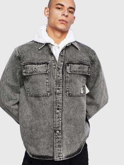 Diesel - S-JESSY-A, Black - Shirts - Image 1
