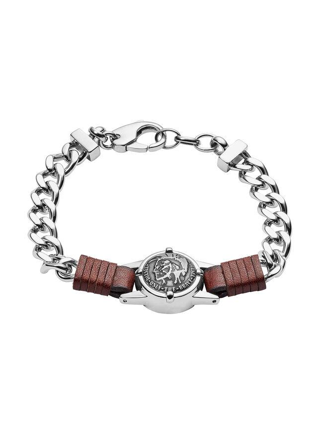 Diesel BRACELET DX1052, Silver - Bracelets - Image 1