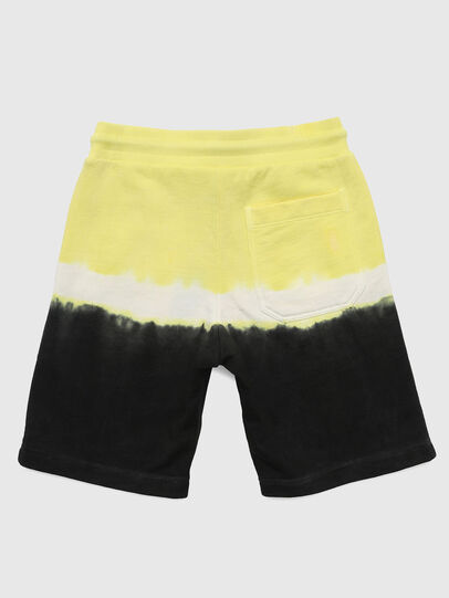 Diesel - PTOXDEEP, Black/Yellow - Shorts - Image 2