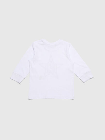Diesel - TDIEGOYHB-ML, White - T-shirts and Tops - Image 2