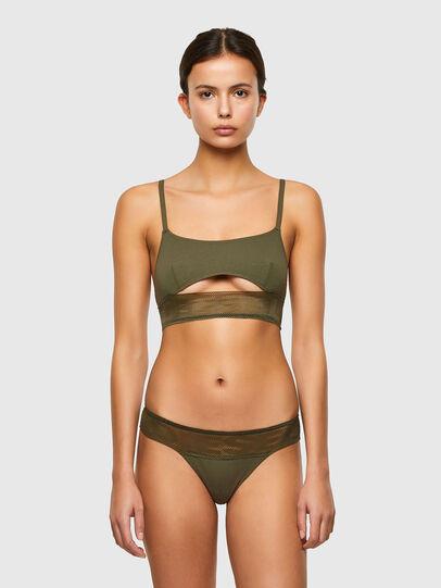 Diesel - UFST-STARMESH, Military Green - Panties - Image 4