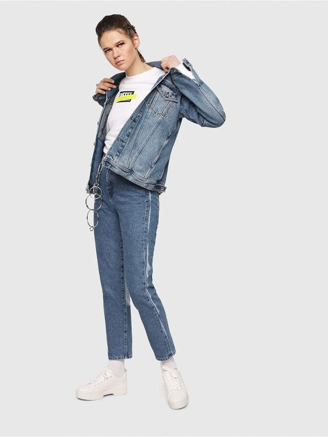 Diesel - D-Eiselle 0077V, Medium blue - Jeans - Image 5