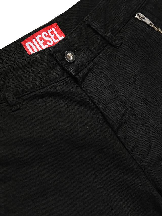 Diesel - GR02-P303, Black - Shorts - Image 3