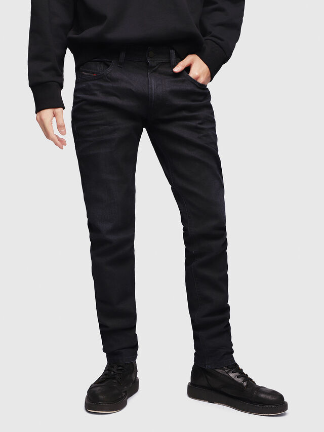 Diesel - Thommer 087AU, Dark Blue - Jeans - Image 1