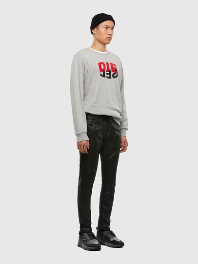Diesel - Krooley JoggJeans 0849R, Black/Dark grey - Jeans - Image 5