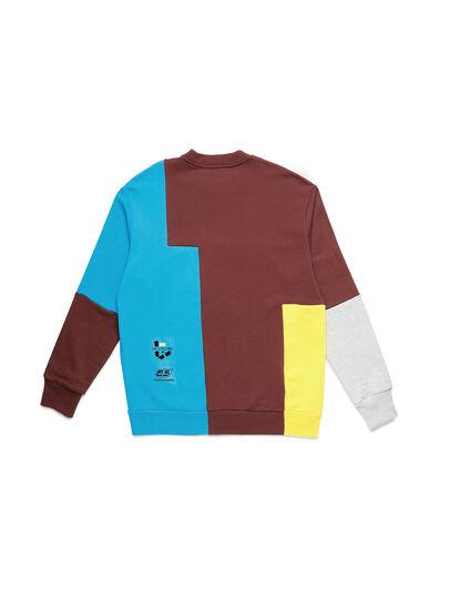 Diesel - D-TAGLIA&CUCI, Multicolor - Sweaters - Image 2