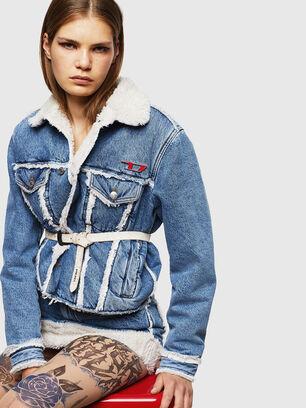 DE-SVEA, Light Blue - Winter Jackets