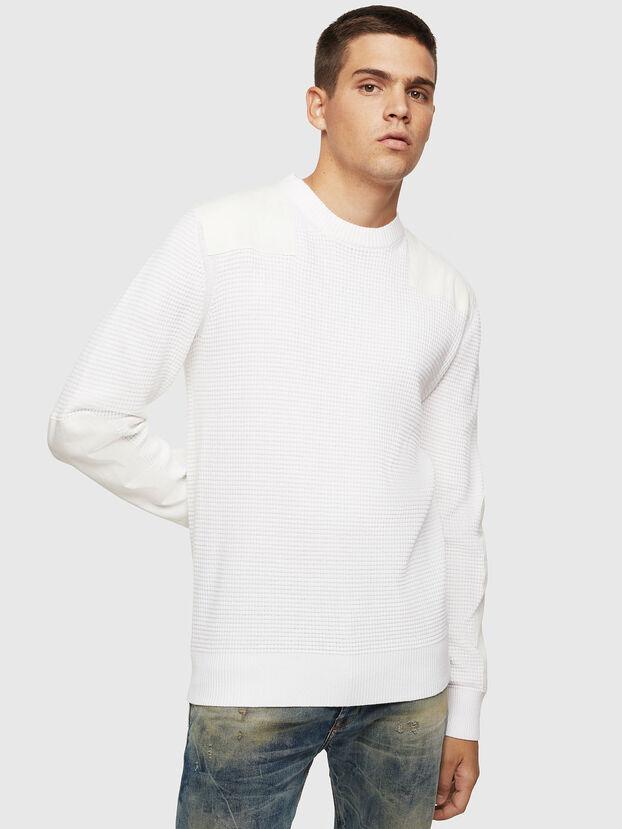 K-LESTER, White - Knitwear