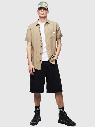 Diesel - S-KIRUMA-B, Beige - Shirts - Image 5