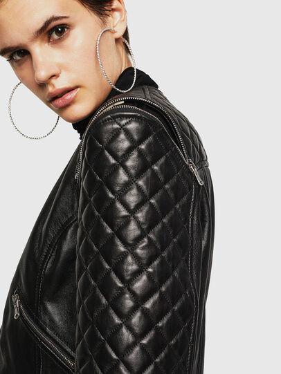 Diesel - LIVIA,  - Leather jackets - Image 5