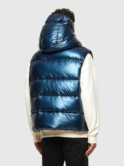 Diesel - W-SELLERS, Blue - Winter Jackets - Image 2