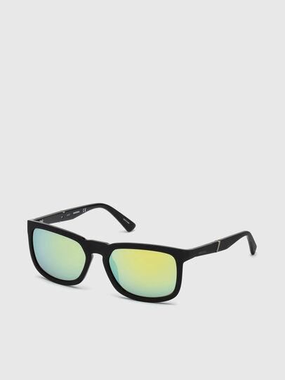 Diesel - DL0262, Black/Green - Sunglasses - Image 2