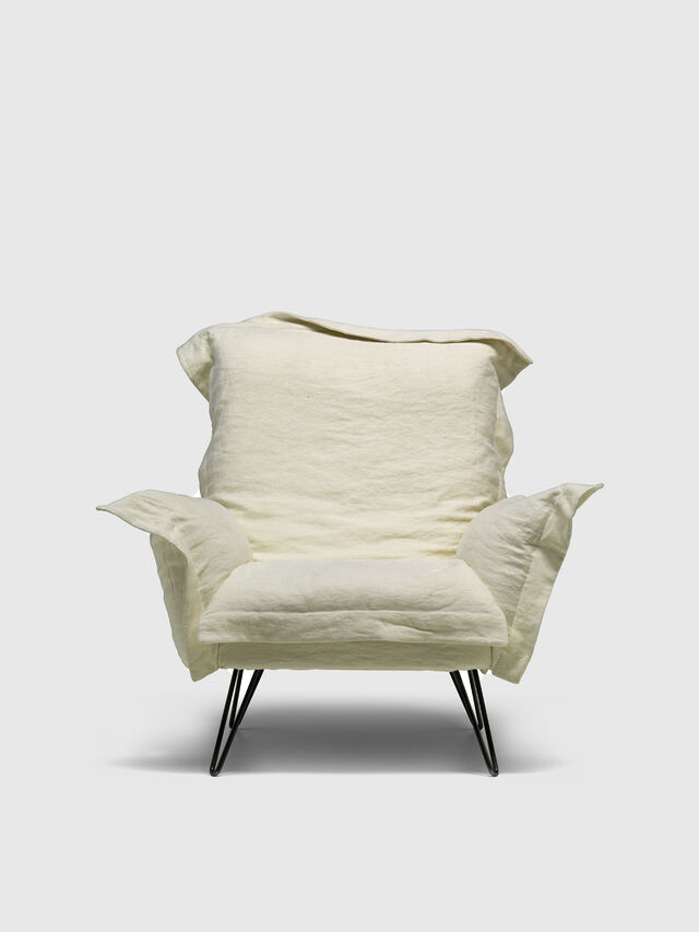Living DL0F55 CLOUDSCAPE, White - Armchairs - Image 1