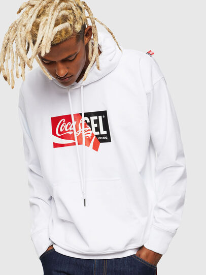 Diesel - CC-S-ALBY-COLA, White - Sweaters - Image 1