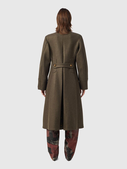 Diesel - W-AGATHE, Olive Green - Winter Jackets - Image 2