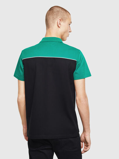 Diesel - T-RALFY-BIC, Green/Black - Polos - Image 2