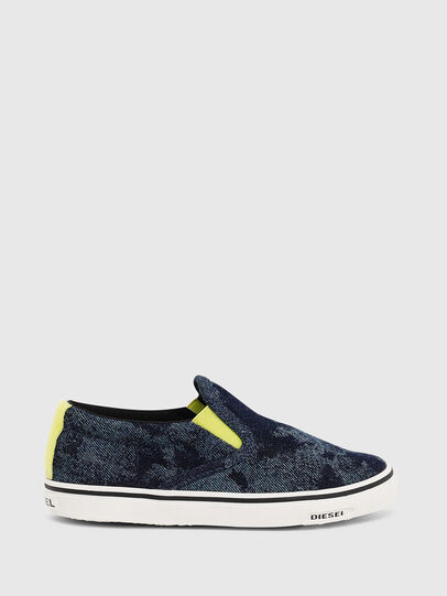 Diesel - SN SLIP ON 01 LC CH, Blue - Footwear - Image 1