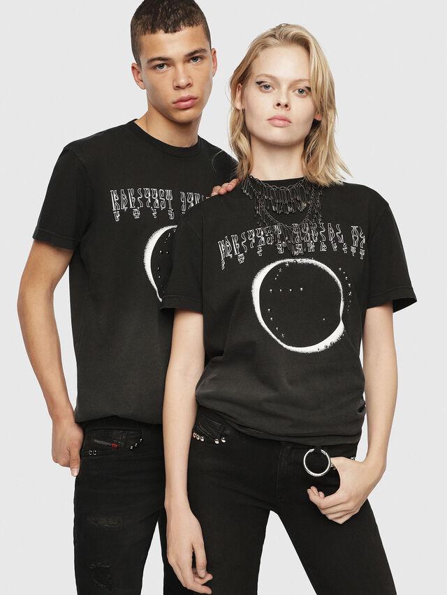 Diesel - SE-DIEGO, Black - T-Shirts - Image 6