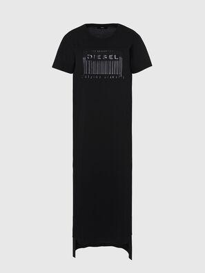 D-FELIX-LONG-E1, Black - Dresses