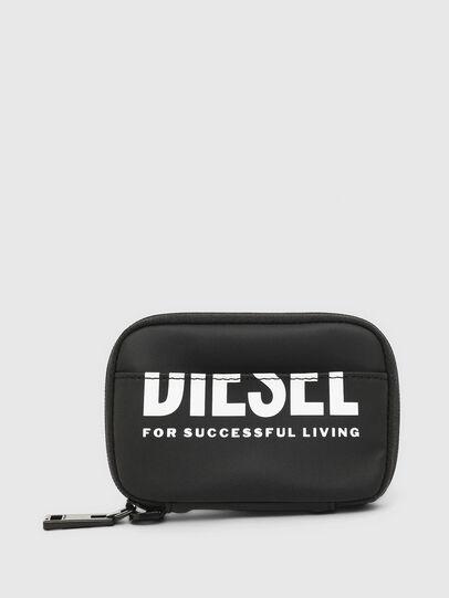 Diesel - LARIO, Black - Zip-Round Wallets - Image 1