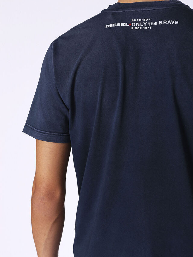 Diesel T-KEITHS, Blue - T-Shirts - Image 2