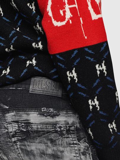 Diesel - D-Reeft JoggJeans 084AH, Black/Dark grey - Jeans - Image 5