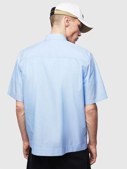 Diesel - S-FRY-FLUO, Light Blue - Shirts - Image 2