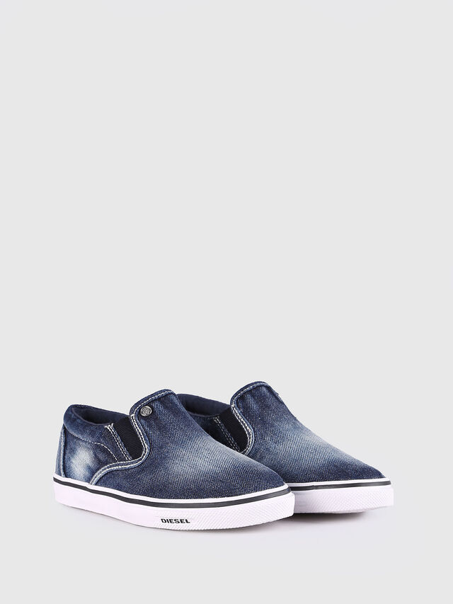 KIDS SLIP ON 21 DENIM YO, Blue Jeans - Footwear - Image 2