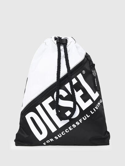Diesel - BBAG-SACK, White/Black - Beachwear accessories - Image 1