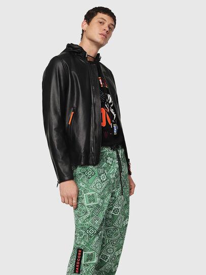 Diesel - L-RESTIL,  - Leather jackets - Image 1