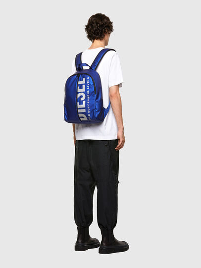 Diesel - BOLD BACK III, Blue - Backpacks - Image 6