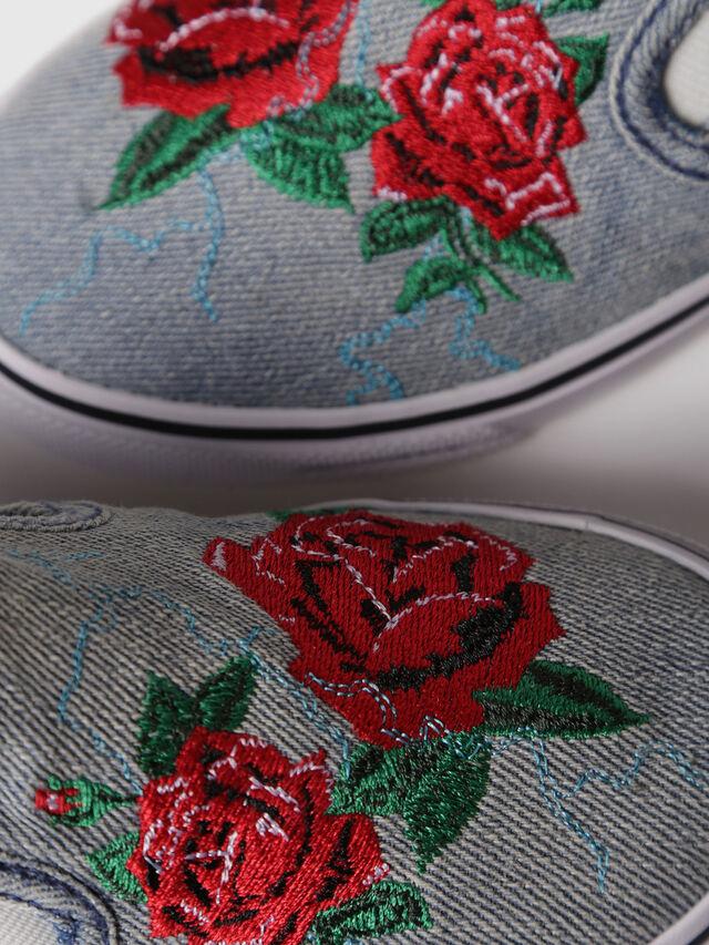 Diesel - SLIP ON 14 ROSE YO, Grey - Footwear - Image 4