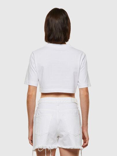 Diesel - T-RECROP, White - T-Shirts - Image 2