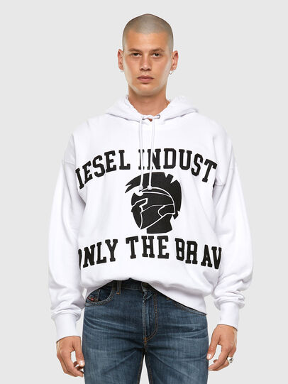 Diesel - S-ALBY-X1, White - Sweaters - Image 4