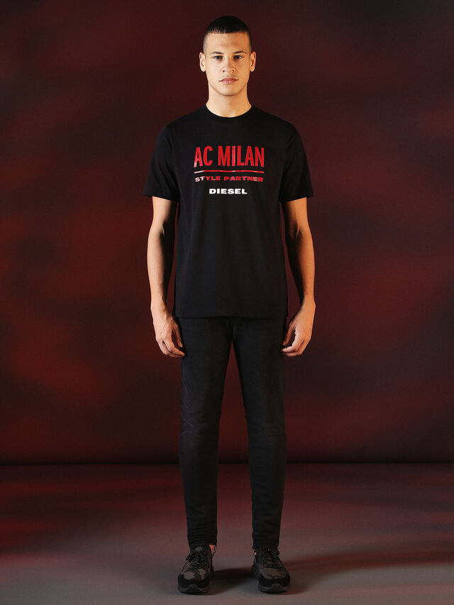 Diesel - DVL-TSHIRT-PRINT-SPECIAL COLLECTION, Black - T-Shirts - Image 5