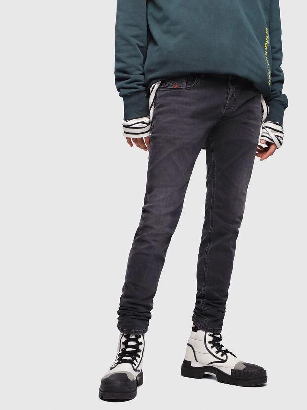 Sleenker 069EQ, Black/Dark grey - Jeans