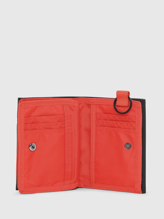Diesel - YOSHI, Black/Red - Small Wallets - Image 3