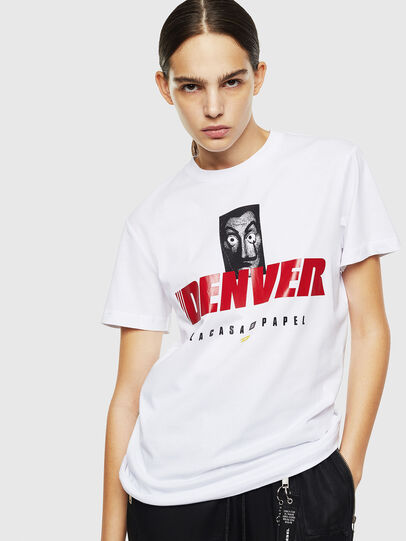 Diesel - LCP-T-DIEGO-DENVER, White - T-Shirts - Image 2
