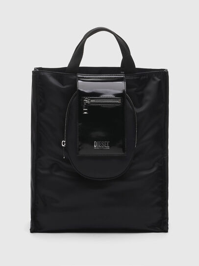 Diesel - ELLY, Black - Shopping and Shoulder Bags - Image 1